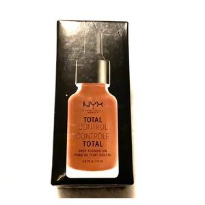 NYX total control drop foundation deep rich